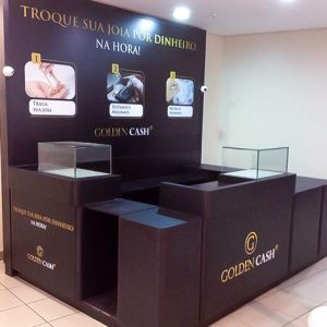 Golden Cash - Quiosque Shopping Light